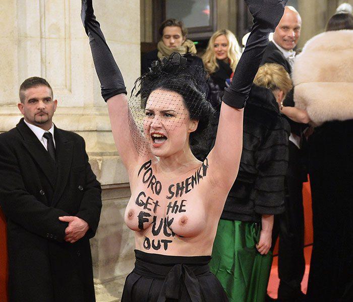femen o 1 - Femen довели президента: Поліція шукає у жінках провокаторів - Заборона