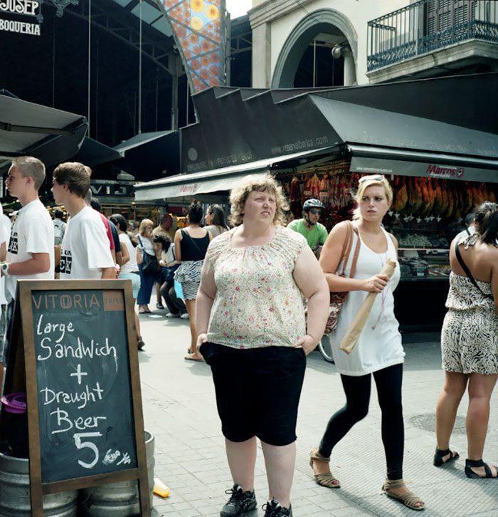photo project wait watchers haley morris cafiero 10 5a8bf3a92d50e  700 - Фотографка документує реакцію на людей з ожирінням - Заборона