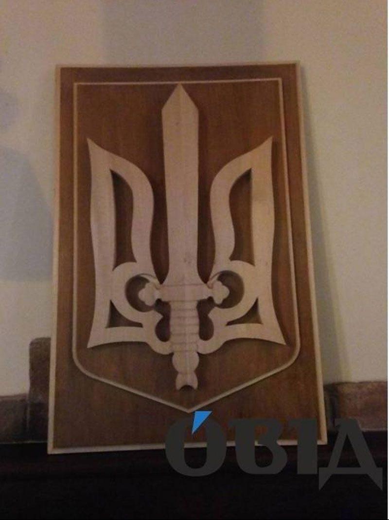 25032018 news maty polyaka 3 - Полька купила і почепила тризуб в Тернополі. Попередній спалив її син - Заборона