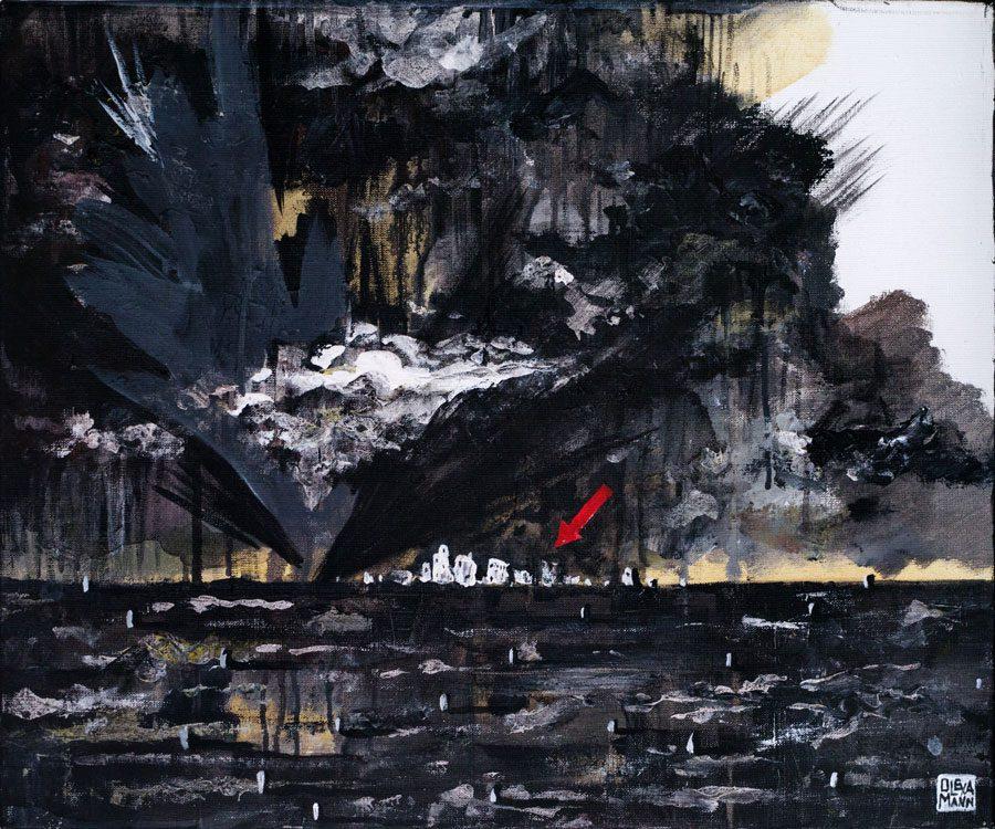 olexa mann P1750605 - «Чорний період»: «Райони», гармонія та крейда у роботах Олекси Манна - Заборона