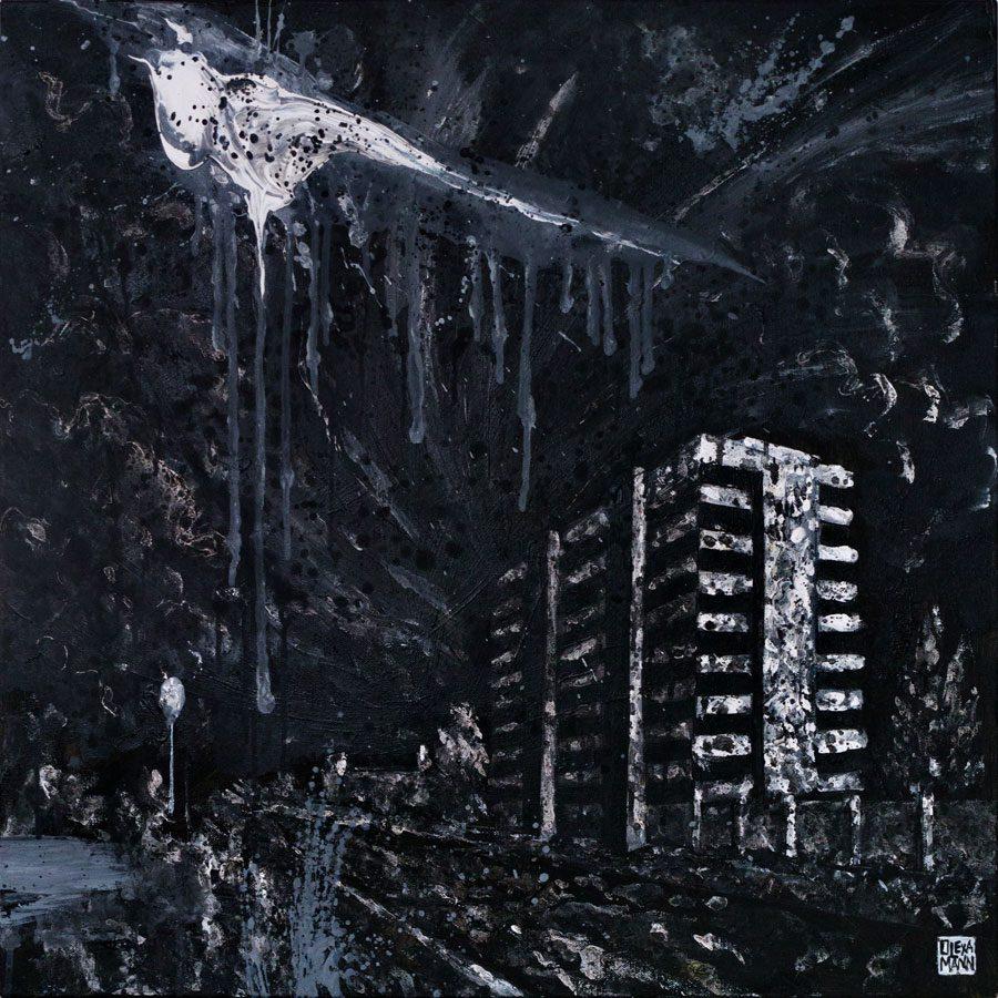 olexa mann P1750617 - «Чорний період»: «Райони», гармонія та крейда у роботах Олекси Манна - Заборона