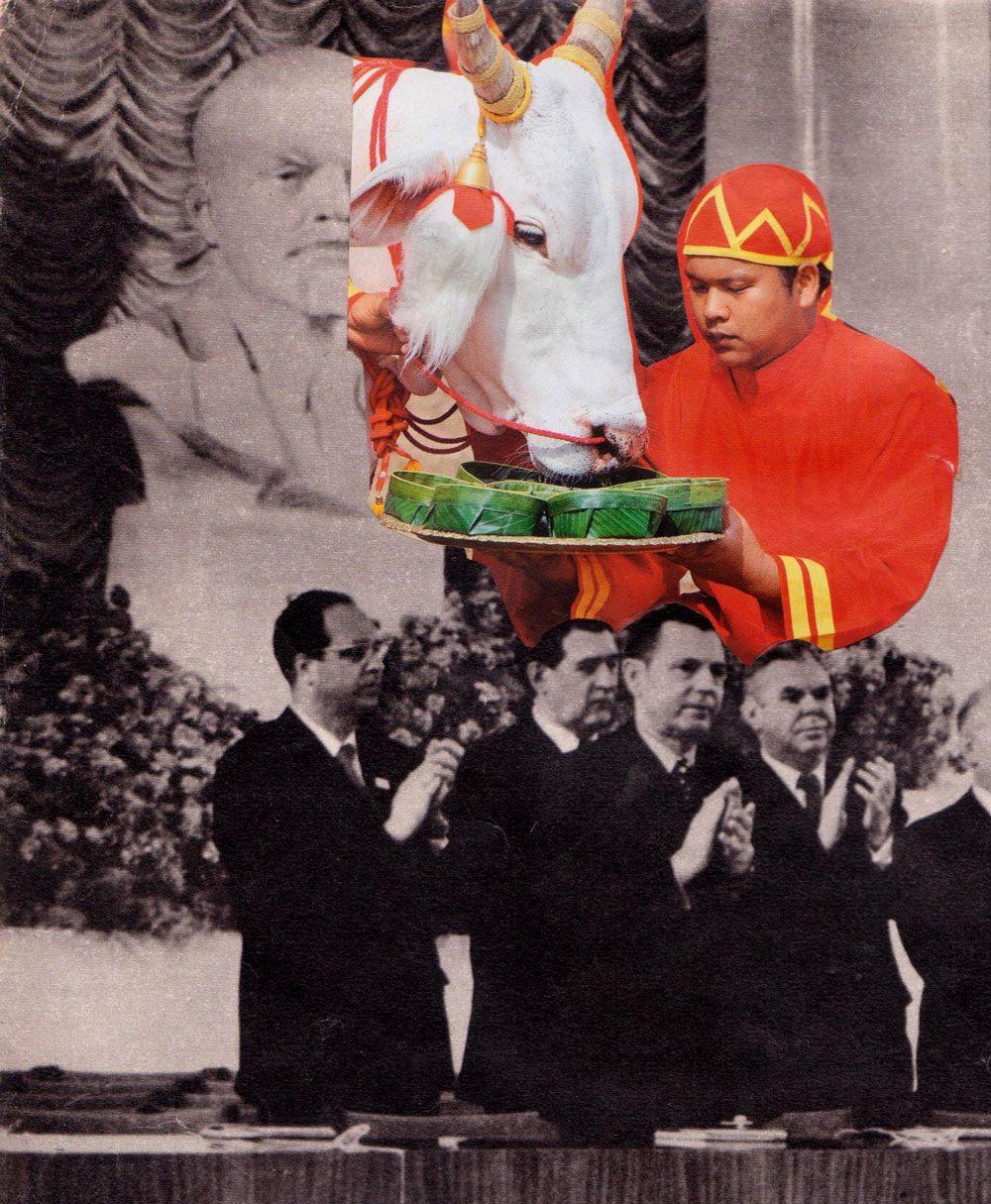 004 2 irinavale - Колхозниці у Голлівуді: Ілюстраторка Ірина Вале іронізує над радянськими фото - Заборона