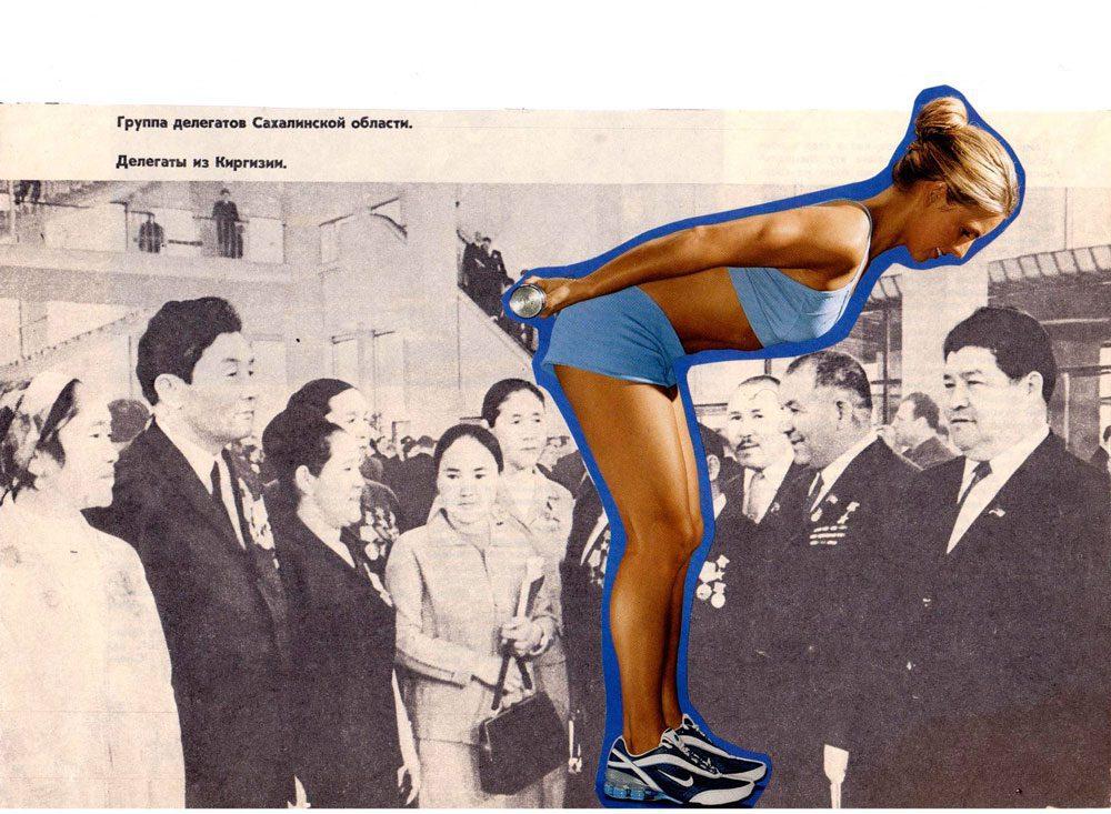 004 4 irinavale - Колхозниці у Голлівуді: Ілюстраторка Ірина Вале іронізує над радянськими фото - Заборона