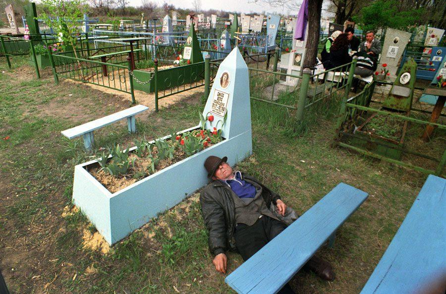 Lugansk 1996  - «Пасха»: Луганські традиції в об'єктиві Олександра Чекменьова - Заборона