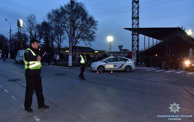 photo 2018 04 01 20 27 55 - Кривавий футбол: У Маріуполі постраждало дев'ять поліцейських - Заборона