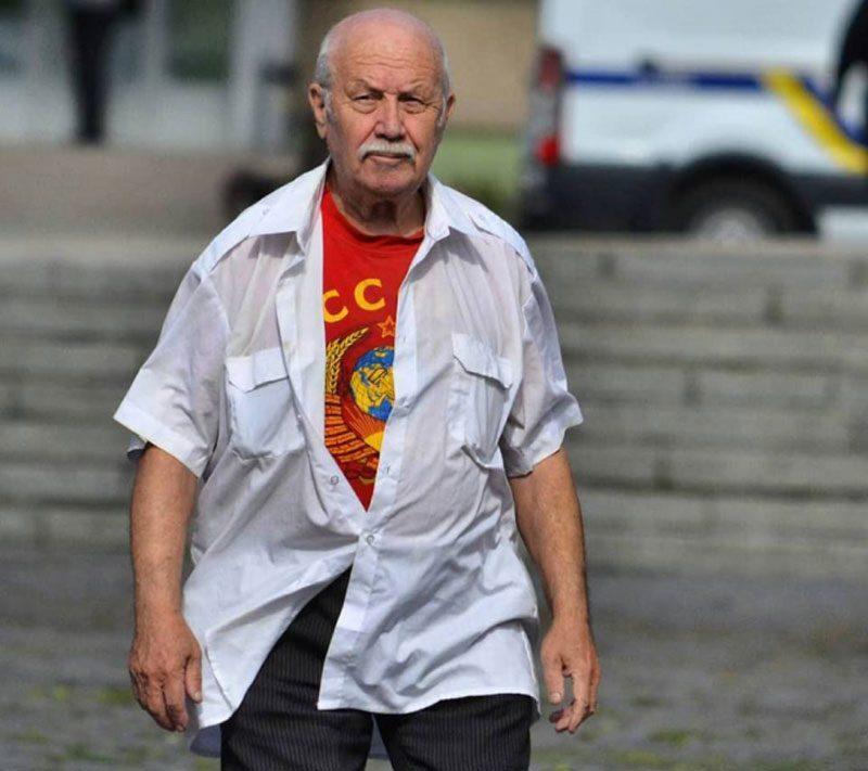 09052018 news 2 3 - У Львові затримали пенсіонера. Він був у футболці з комуністичною символікою - Заборона