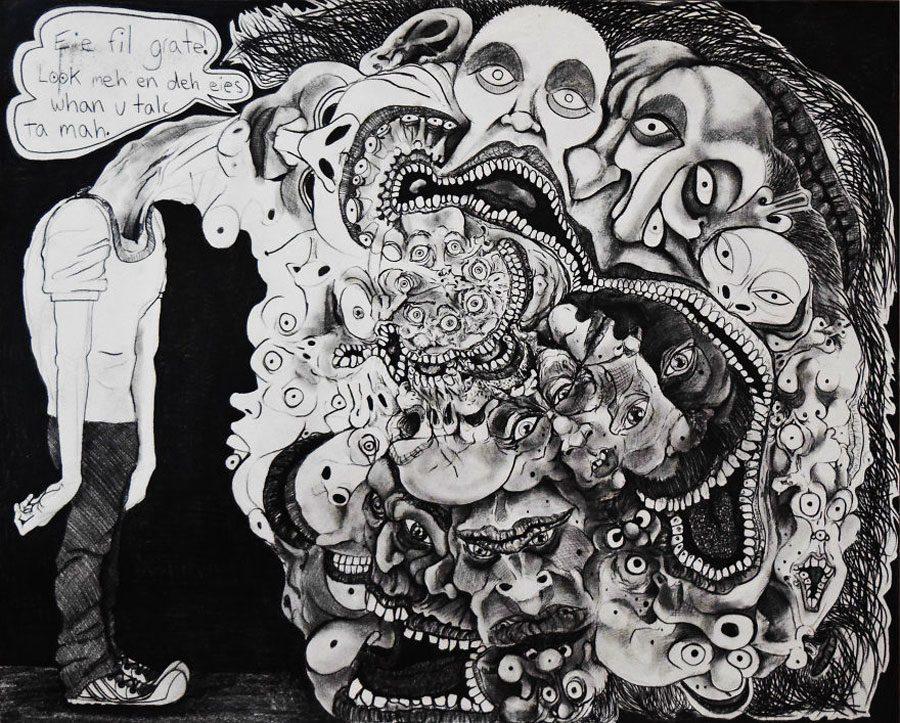 Eie fil grate35x44 5afc59611e61d  880 - «Мати Земля – брудна повія»: Художник малює картини про сучасний світ - Заборона