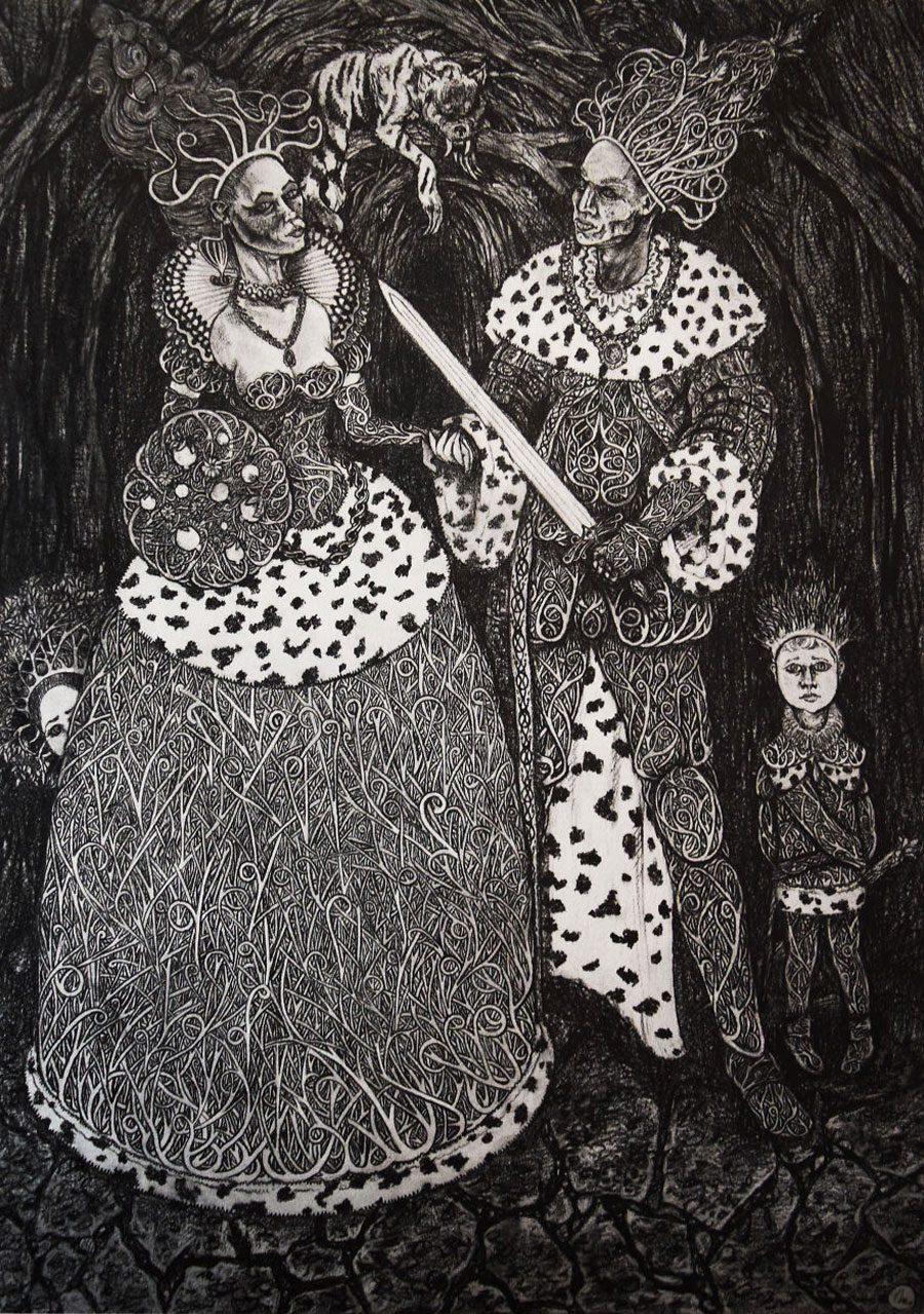Family 5afc5800d84d2  880 - «Мати Земля – брудна повія»: Художник малює картини про сучасний світ - Заборона