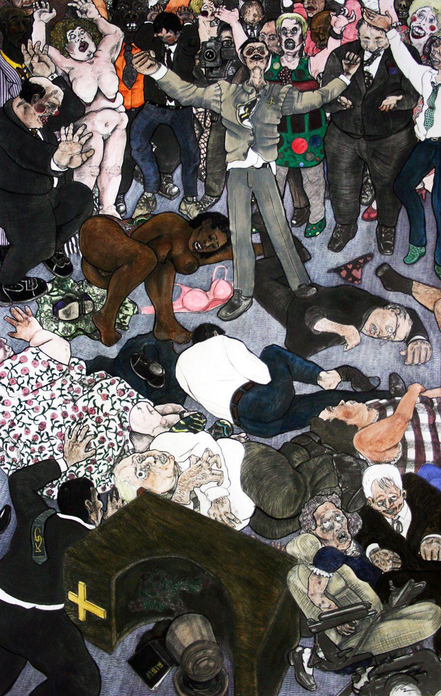 Hallehooplah 5afc5813e99d0  880 - «Мати Земля – брудна повія»: Художник малює картини про сучасний світ - Заборона