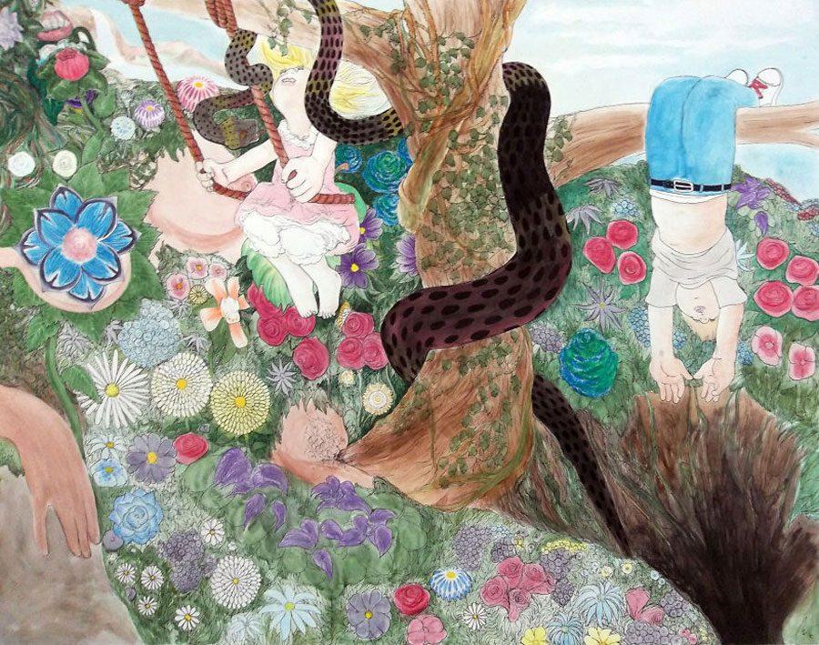 Mother Earth Is a Dirty Whore 5afc582ac96d3  880 - «Мати Земля – брудна повія»: Художник малює картини про сучасний світ - Заборона