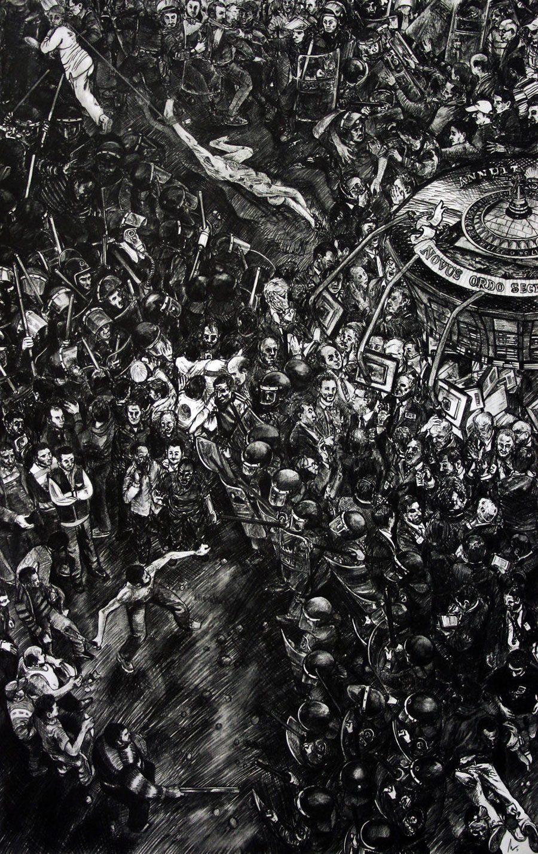 Ozymandias 5afc58333ccbf  880 - «Мати Земля – брудна повія»: Художник малює картини про сучасний світ - Заборона