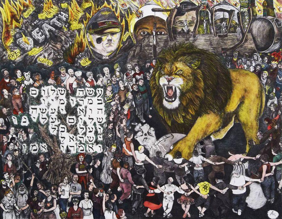 Purim Hope 5afc583be2d14  880 - «Мати Земля – брудна повія»: Художник малює картини про сучасний світ - Заборона