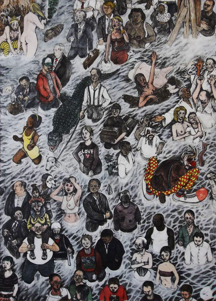 Rush 5afc5845af0e0  880 - «Мати Земля – брудна повія»: Художник малює картини про сучасний світ - Заборона