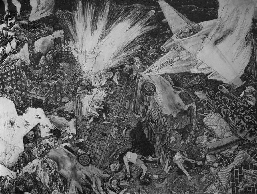 The Playground 5afc59e99e31a  880 - «Мати Земля – брудна повія»: Художник малює картини про сучасний світ - Заборона
