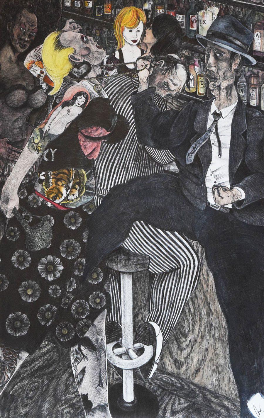 Transvesfight 5afc585ee33e7  880 - «Мати Земля – брудна повія»: Художник малює картини про сучасний світ - Заборона