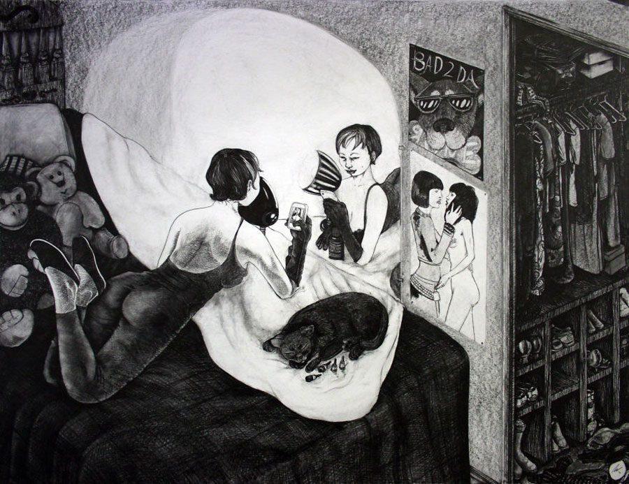 Vanitas 5afc587564cc3  880 - «Мати Земля – брудна повія»: Художник малює картини про сучасний світ - Заборона