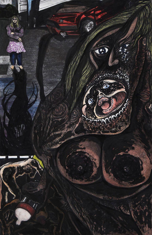 mamas lil shit 25x38 5afc59ae1de73  880 - «Мати Земля – брудна повія»: Художник малює картини про сучасний світ - Заборона