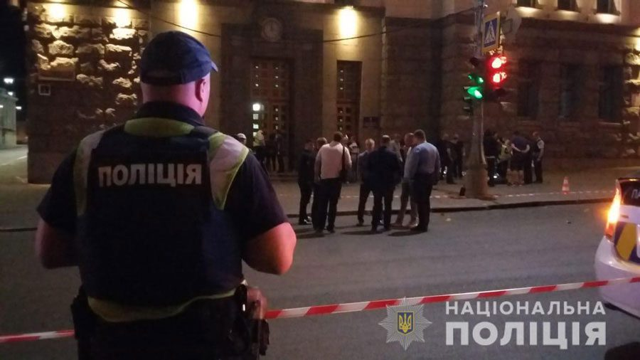 20082018 news 2 3 - У Харкові стріляли біля міськради. Загинув поліцейський. Детально - Заборона