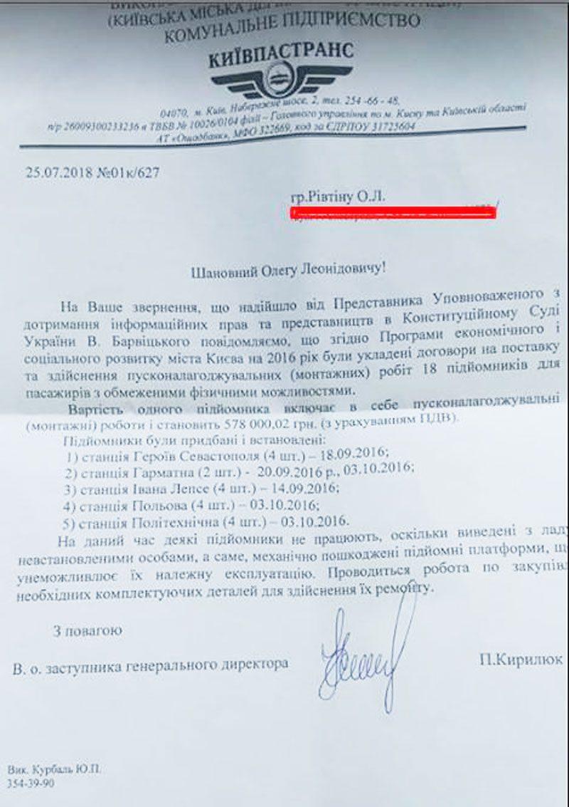 39161542 1876110122435375 9133245154625323008 n - Київ витратив 10 мільйонів на підйомники для людей з інвалідністю. Жоден не працює - Заборона