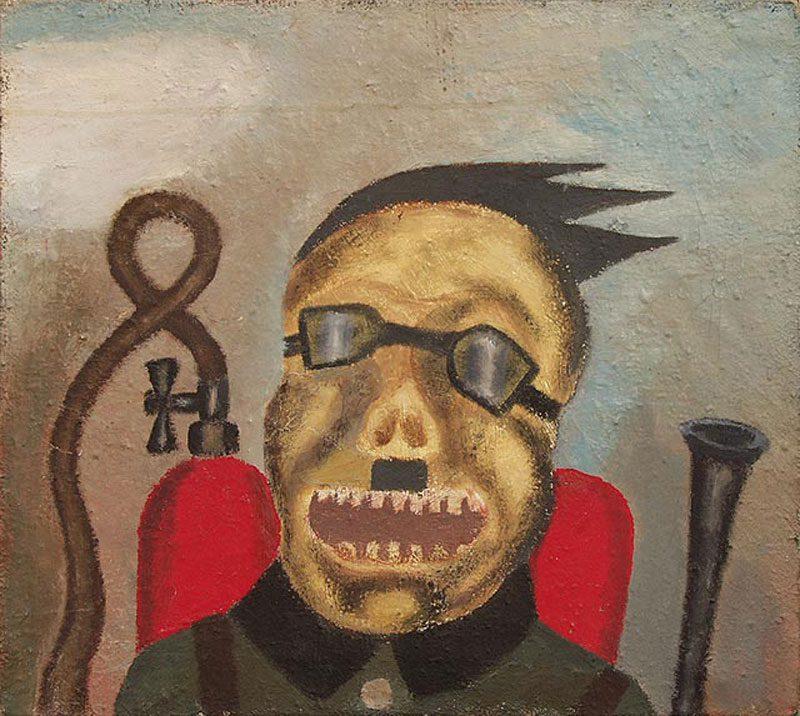 grand father high 1 - Цікаво: Арт-брют – мистецтво божевільних людей - Заборона