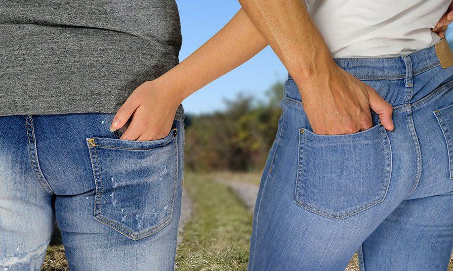 pocket 7 - Експертна думка: Кишені жіночих джинсів занадто малі для смартфонів - Заборона