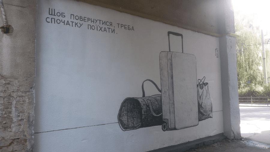 gamlet 2 - Стріт-спам у великому місті. Чи заговорить вуличне мистецтво, якщо його зафарбувати? - Заборона