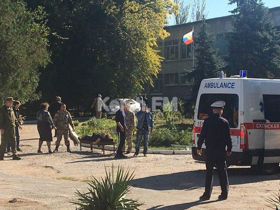 17102018 news 4 2 - У коледжі в Керчі підірвали бомбу - Заборона