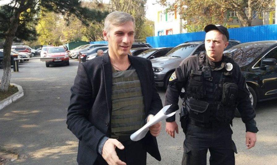 24102018 news 2 3 - Одеський активіст Михайлик розповів про версії замаху та самопочуття - Заборона