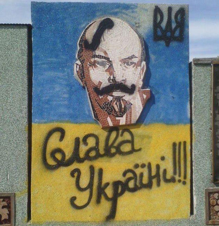 zhovtoblakyt 3 - #Жовтоблакить. Як зробити серп і молот патріотичними, а Леніна перетворити на козака - Заборона