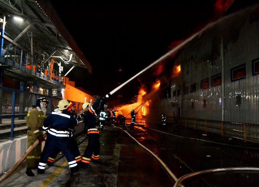 Od DSC 0028 - Під Одесою сталась пожежа на заводі. Її ліквідували, жертв немає - Заборона