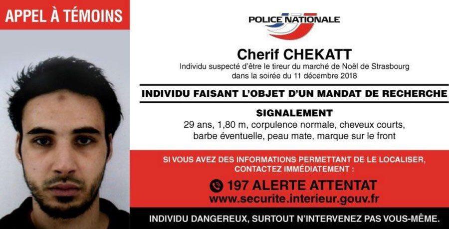 14122018 news 2 3 - Французькі поліцейські нейтралізували страсбурзького стрілка. Він переховувався від правоохоронців близько 48 годин - Заборона