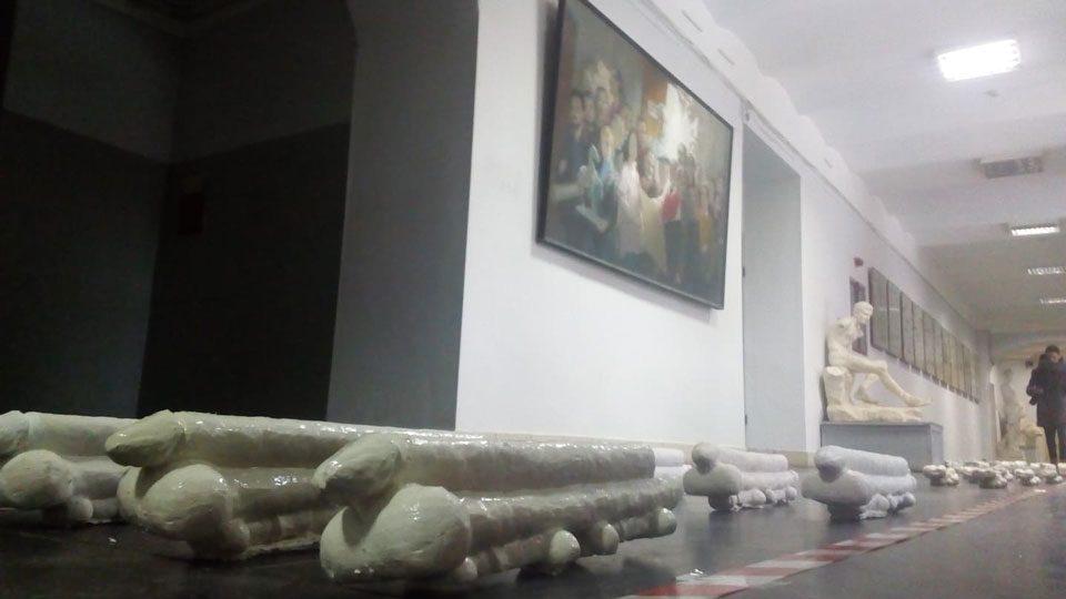 24012019 news 1 6 - Як праворадикали С14 прийшли в Академію мистецтв «допомогти» відрахувати студента за «Парад членів» - Заборона