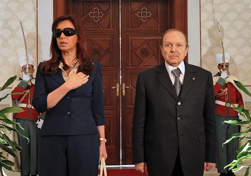Cristina Fern ndez de Kirchner and Abdelaziz Bouteflika - Ку(х)ні, зброя проти ортодоксії та інші ШЗХ тижня - Заборона