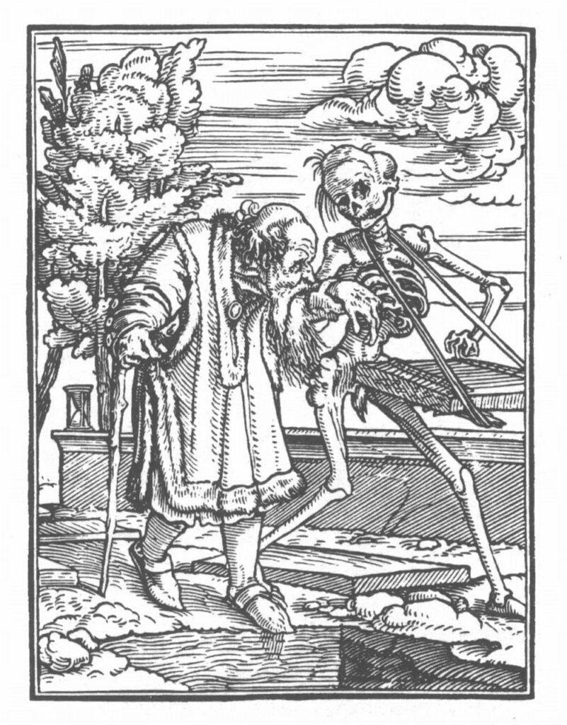 Holbein Danse Macabre 33 801x1024 - <b>Из-за пандемии государства ущемляют права человека.</b> Мы изучили, как это происходило в разное время и какие опасности нас ждут - Заборона