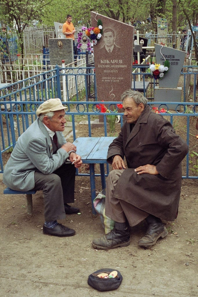 andrij gorb 03 683x1024 - <b>В Україні тривають Гробки, коли люди влаштовують трапези на цвинтарях.</b> Пояснюємо, що це за традиція - Заборона