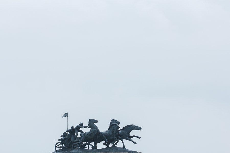 2 foto evgenyj nykyforov - <b>«Не трогайте моего Ленина».</b> В чем проблемы декоммунизации и как их решать – рассказываем на примере памятника тачанке в Каховке - Заборона