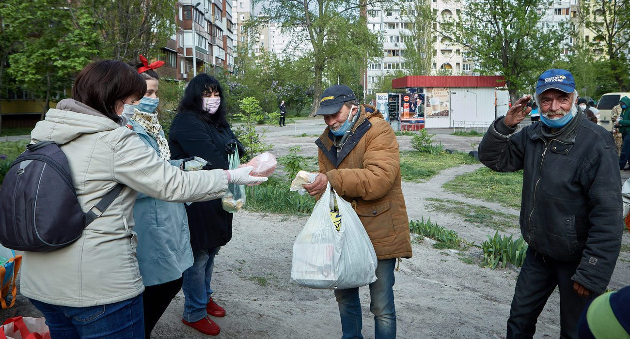 бездомні в Києві