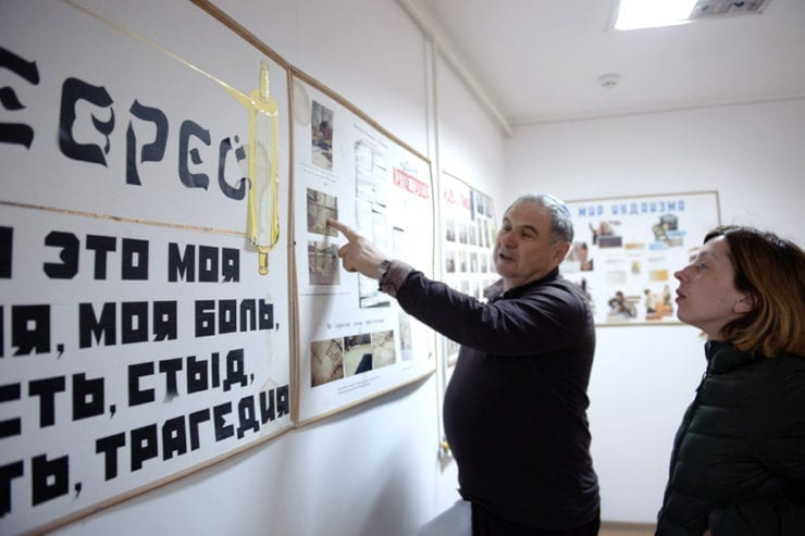 ill3 4 740x493 - <b>In one town in Ukraine, police demanded a list of Jews from the head of the Jewish community.</b> We tell you about the history of antisemitism there. - Заборона