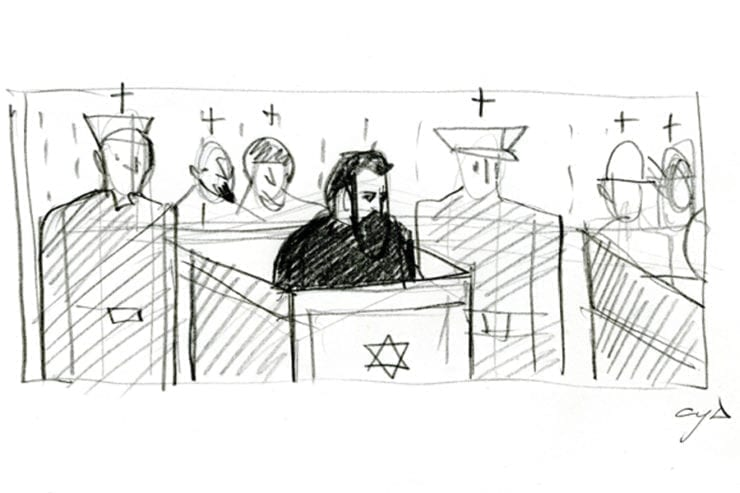 sketch1 740x493 - <b>Unfinished trial.</b> Zaborona's Report on the legendary Beilis Case — and why the monument to him may never appear in Kyiv - Заборона