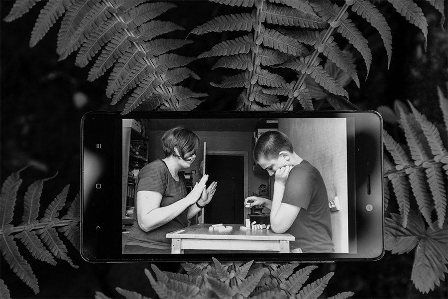 5 1 - <b>Таня и Артем.</b> Фотопроект Забороны о жизни ребенка с аутическим расстройством - Заборона