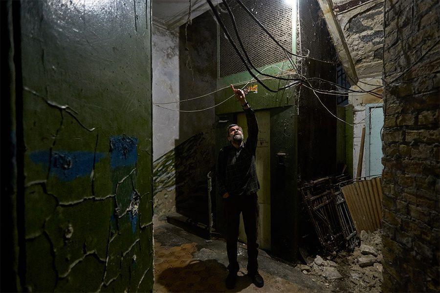 6 5 - <b>Упродовж 25 років математик рятує історичну пам'ятку в центрі Києва.</b> Влада міста каже, що він заважає - Заборона