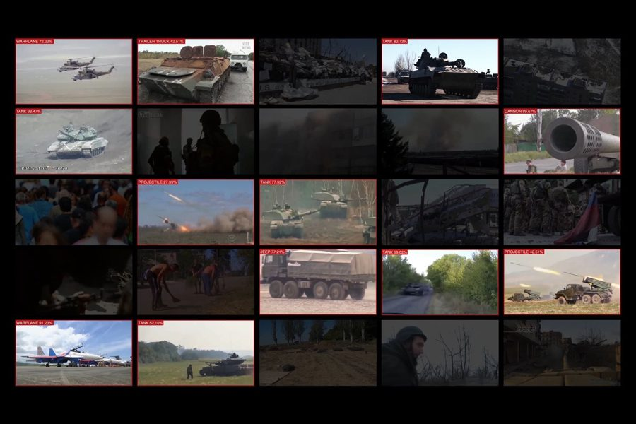 forensic architecture used machine learning and computer vision techniques to find military vehicles within thousands of hours of open source video footage. forensic architecture - <b>Архитектурная криминалистика позволяет раскрывать военные преступления.</b> Заборона рассказывает, кто и как это делает - Заборона