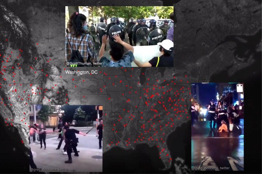 police brutality at the black lives matter protests - <b>Архитектурная криминалистика позволяет раскрывать военные преступления.</b> Заборона рассказывает, кто и как это делает - Заборона