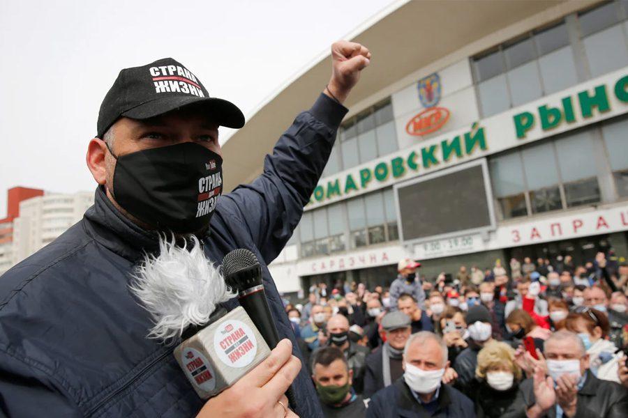 3 1 - <b>У Білорусі триває найжорсткіша президентська кампанія за всю історію незалежності</b>. Чому так і що далі – в репортажі Заборони - Заборона