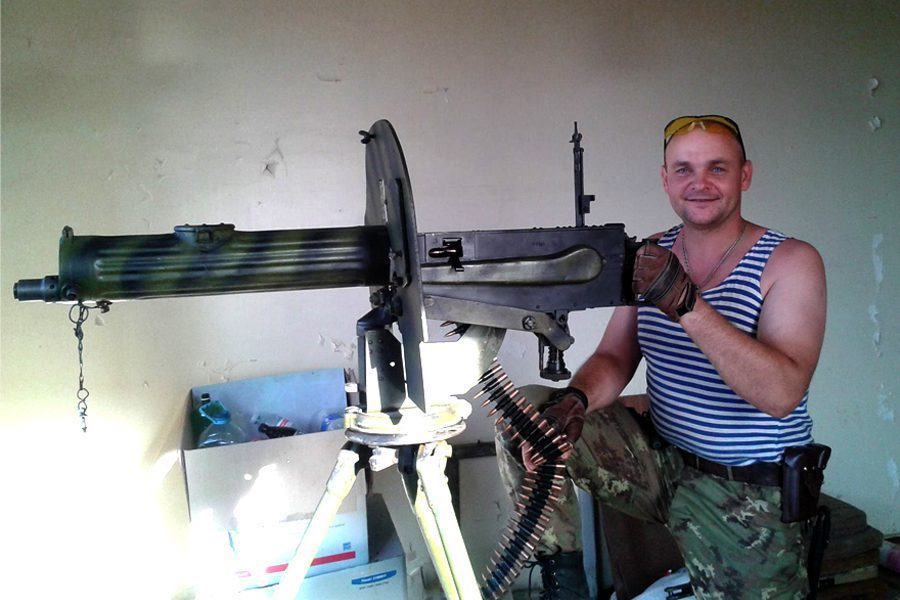dmytro palojka1 - <b>За нашу и вашу свободу.</b> Как беларусы воюют за Украину - Заборона