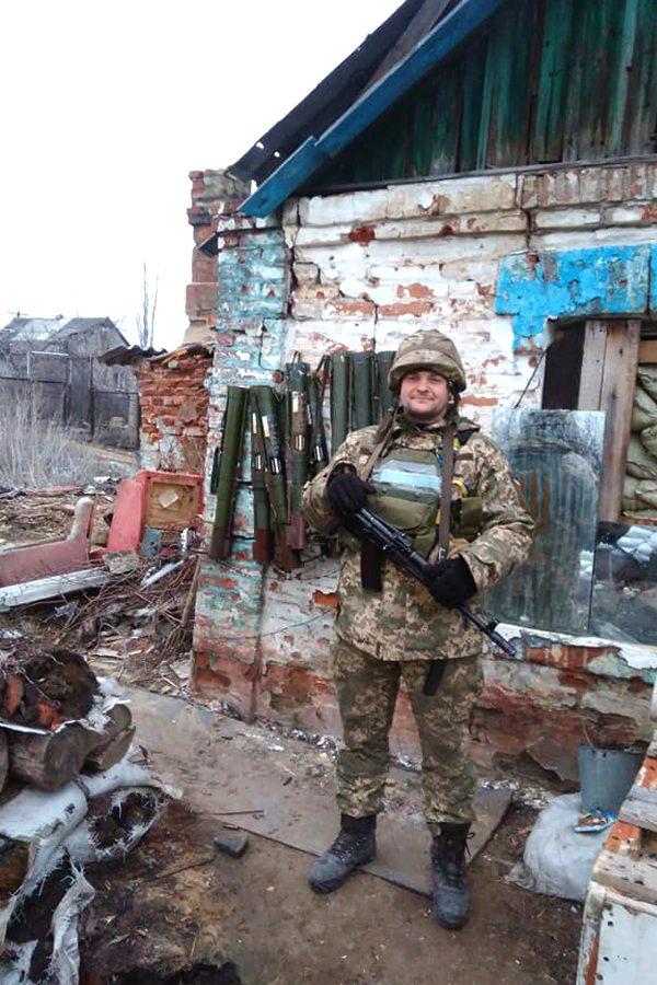 dmytro palojka2 - <b>За нашу и вашу свободу.</b> Как беларусы воюют за Украину - Заборона
