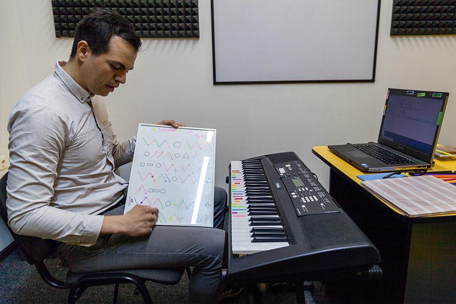music autism 5 - <b>Музика для особливих.</b> Заборона розповідає про музиканта, який вчить дітей з аутизмом - Заборона