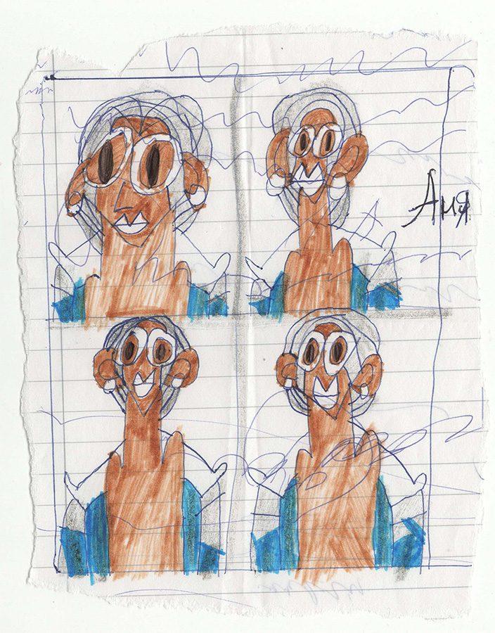 anna lytvynova portret sestrы foto na dokumentы - <b>Нормальне мистецтво.</b> Заборона розповідає, хто та навіщо створив студію для художників із синдромом Дауна - Заборона