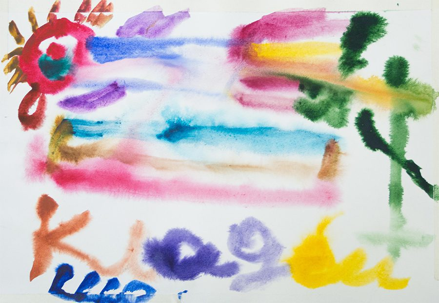 pervыe rabotы zheny kotorыe mы uvydely - <b>Нормальне мистецтво.</b> Заборона розповідає, хто та навіщо створив студію для художників із синдромом Дауна - Заборона