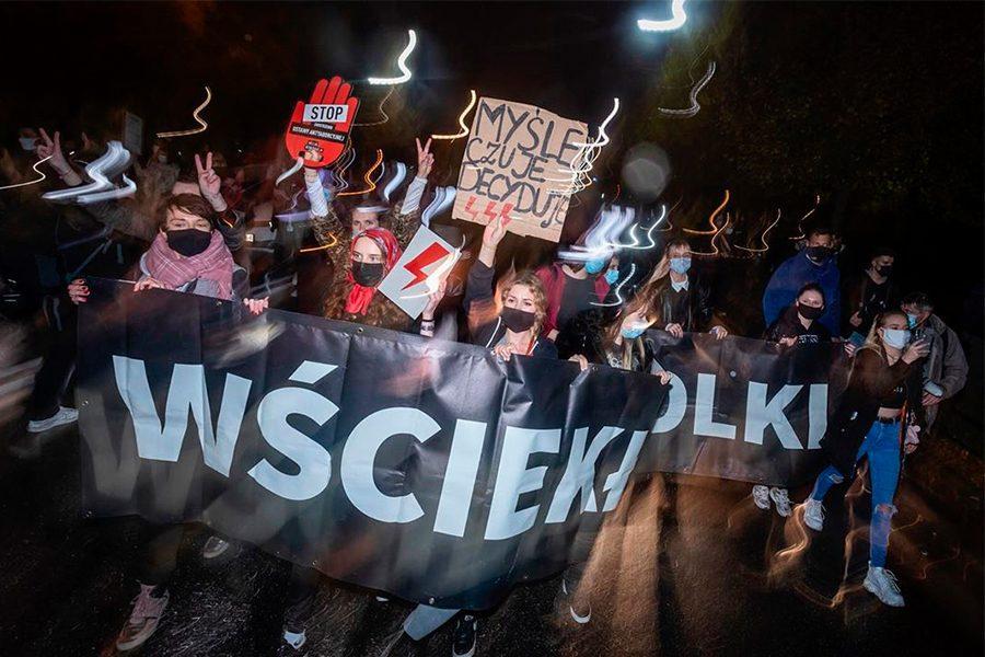 1 25 - <b>«Зйобуйте!».</b> Як у Польщі протестували проти заборони абортів — репортаж Заборони - Заборона